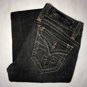 Rock Revival Gwen Embellished Bootcut Jeans 28 33